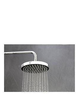 Triton Isabel Fixed Shower Head  Chrome