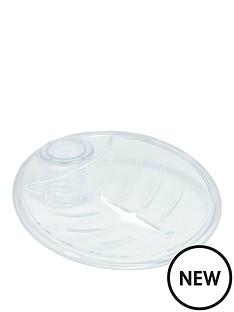 triton-riser-rail-soap-dish-25mm-clear