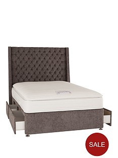 luxe-collection-from-airsprung-hayworthnbsp1000-pocket-pillowtop-divan-bed-with-headboard-and-storage-options