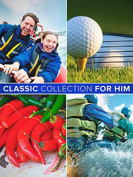 Virgin Experience Days Classic Collection For Him