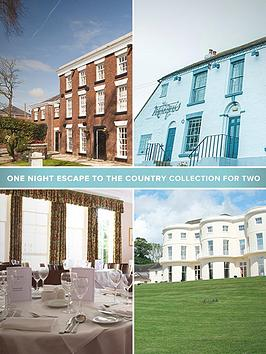 Virgin Experience Days One Night Escape To The Country Collection For Two
