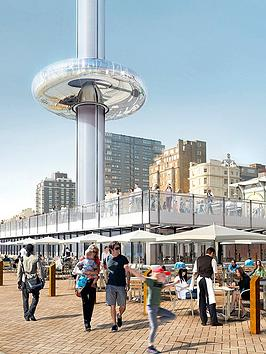 Virgin Experience Days Visit To The British Airways I360 With Three Course Meal And Wine For Two At CafÉ Rouge