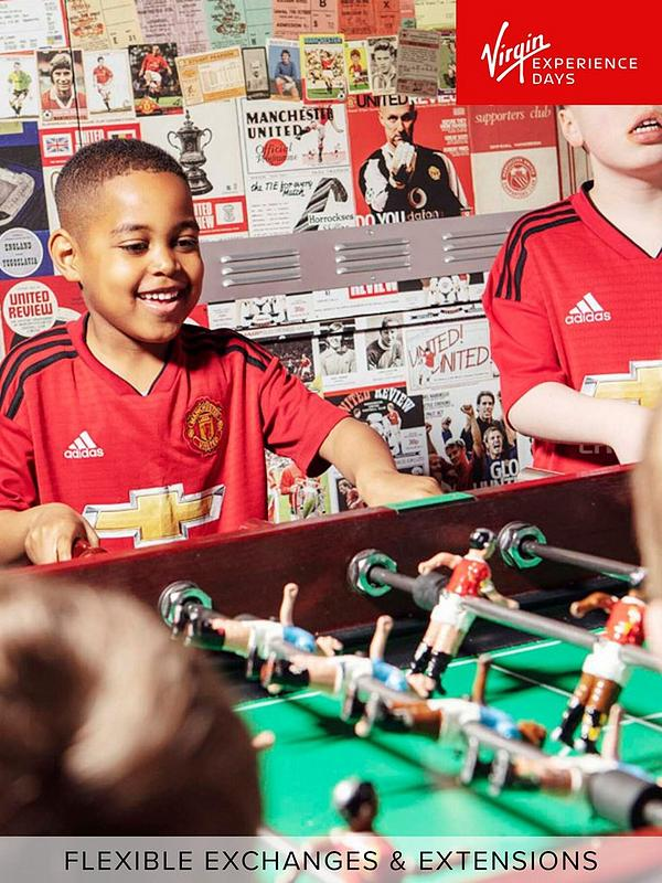 Virgin Experience Days Manchester United Club Stadium Tour With Meal In The Red Cafe For One Adult And One Child Littlewoods Com