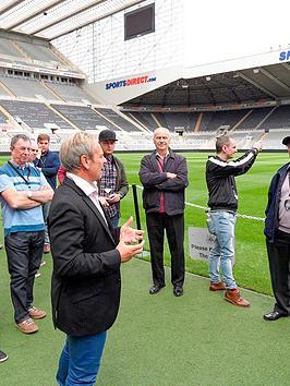 Virgin Experience Days Newcastle United Stadium Legends Tour