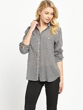 Denim & Supply  Ralph Lauren Utility Long Gingham Shirt  Kassy Check