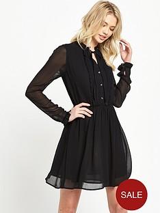 denim-supply-ralph-lauren-bianca-bib-dress-polo-black