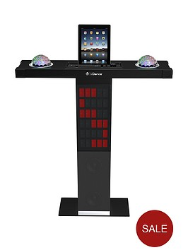 easy-karaoke-i-dance-party-station-xd-300-bluetoith-karaoke-system-with-built-in-light-show