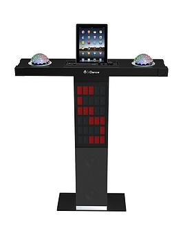 Easy Karaoke I Dance Party Station Xd300 Bluetoith Karaoke System With Built In Light Show