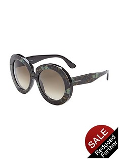 valentino-print-round-sunglasses-camo