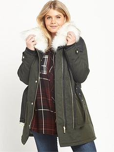 ri-plus-faux-fur-collar-parka