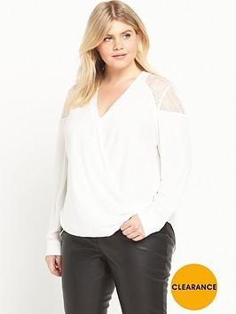 ri-plus-lace-shoulder-wrap-blouse