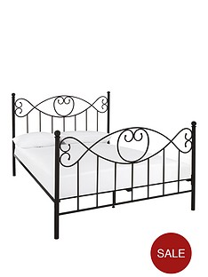 juliette-metal-bed-frame-with-mattress-options-buy-and-save