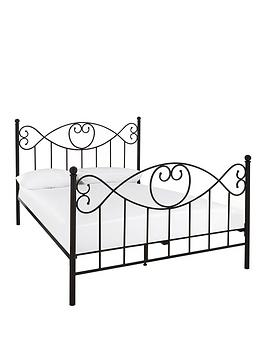 Very Juliette Metal Bed Frame With Mattress Options (Buy And Save!)  - Bed  ... Picture