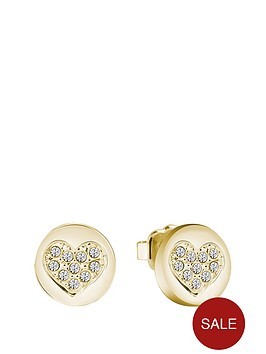guess-gold-plated-crystal-heart-stud-earrings