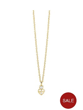 guess-gold-plated-mini-heart-necklace