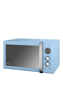 Swan 25Litre Retro Digital Combi Microwave With Grill  Blue