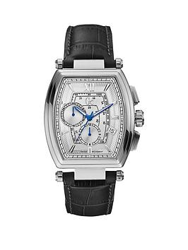 guess-gc-retro-glass-leather-strap-mens-watch