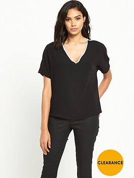 river-island-split-shoulder-trim-top