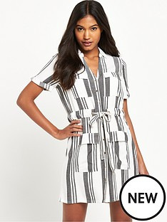 river-island-stripe-shirt-dress