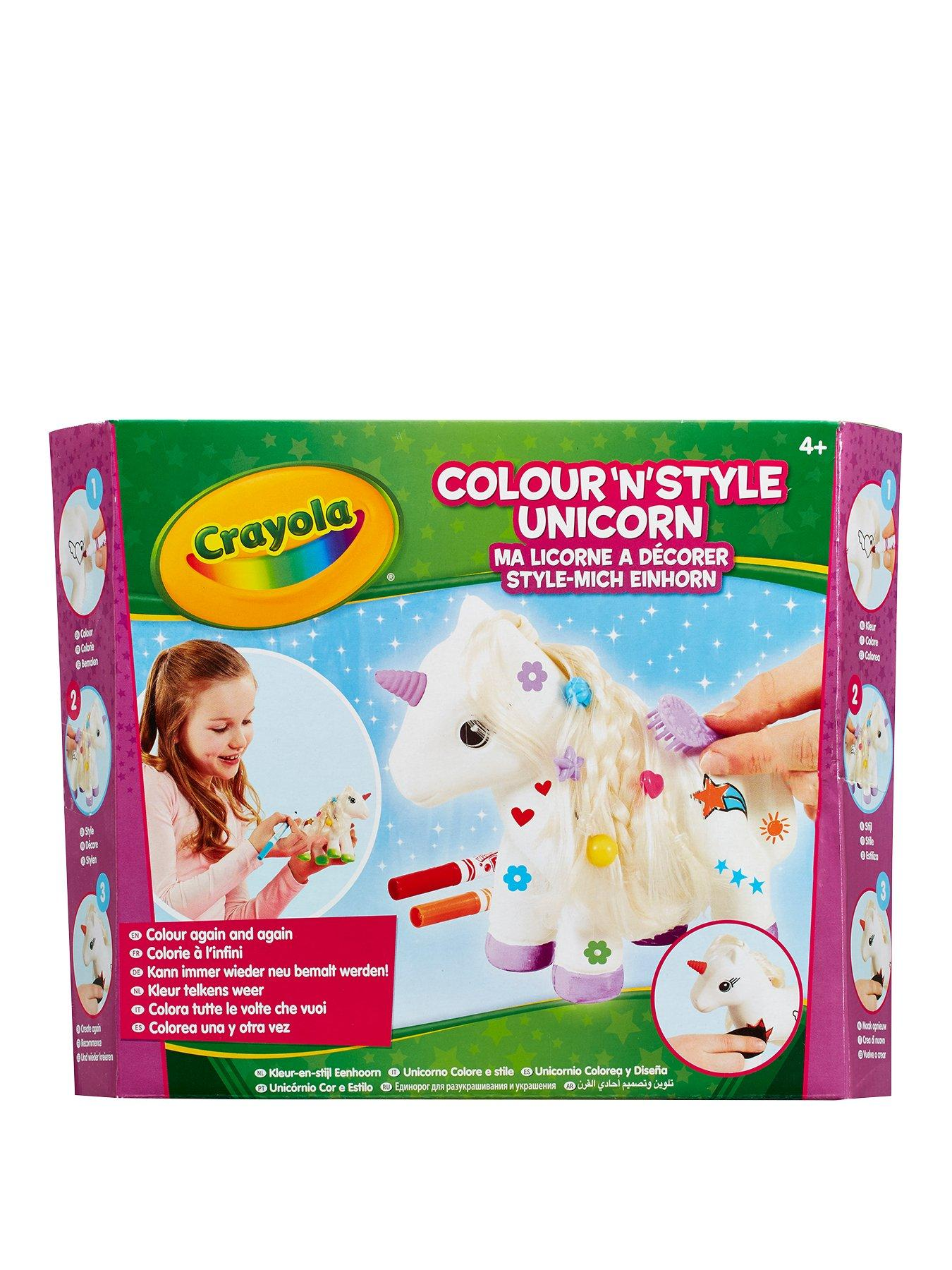 Compare prices for Crayola Colour N Style Unicorn