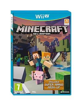 Nintendo Wii U Minecraft  Super Mario Edition