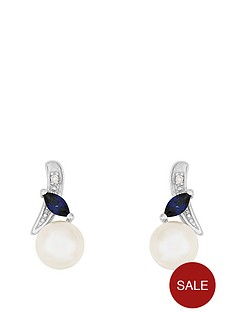 love-gem-9ct-whitenbspgold-diamond-set-freshwater-pearl-and-created-sapphire-earrings