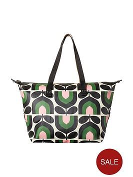 orla-kiely-zip-shopper-bag