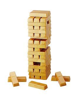 Hasbro Jenga Gold Game