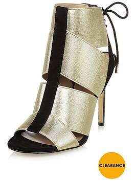 river-island-elastic-tie-back-shoe-boot