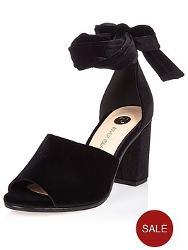 river-island-velvet-block-heel-tie-up