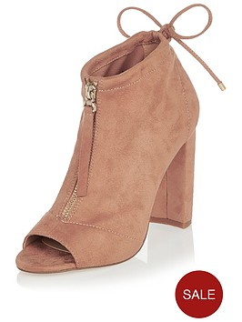 river-island-peep-toe-zip-up-shoe-boot
