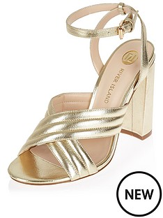river-island-river-island-tie-up-two-part-block-heel-sandal