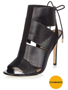 river-island-elastic-tie-back-shoe-boot