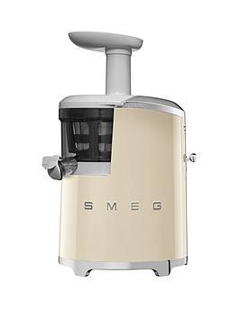 smeg-sjf01-retro-style-slow-juicer-cream