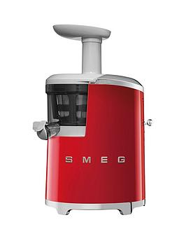 Smeg Retro Style Slow Juicer  Red