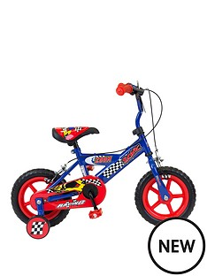 sonic-zoom-boys-bike-8-quot-frame-redblue