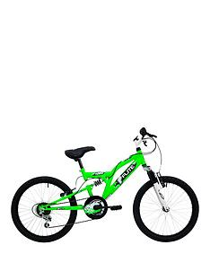 flite-turbo-boys-full-suspension-bike-11-inch-frame-neon-green