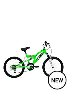 flite-turbo-boys-full-suspension-bike-11quot-frame-neon-green