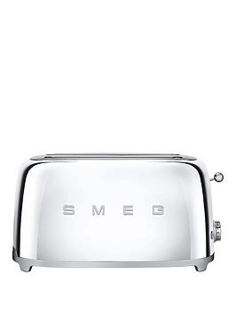 Smeg 2Slice Toaster  Silver