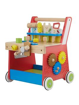 Early Learning Centre Early Learning Centre Wooden Activity Workbench