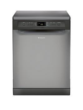 Hotpoint Fdfet 33121 G 14Place Dishwasher  Graphite