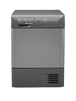 Hotpoint Aquarius Tchl83Brg 8Kg Sensor Condenser Tumble Dryer  Silver