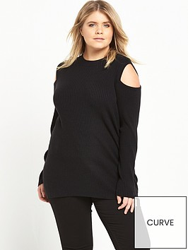 ri-plus-ribbed-cold-shoulder-top