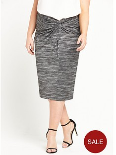 ri-plus-jersey-wrap-midi-skirt-grey