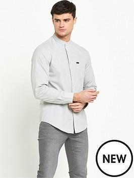 lee-bandcollar-long-sleeve-shirt