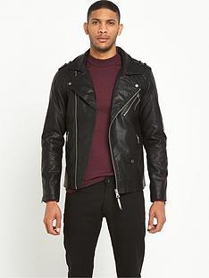 river-island-leather-look-biker-jacket
