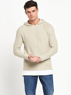 river-island-mock-layer-hooded-knitted-jumper