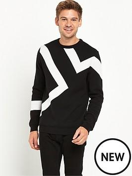 river-island-lightning-knitted-jumper