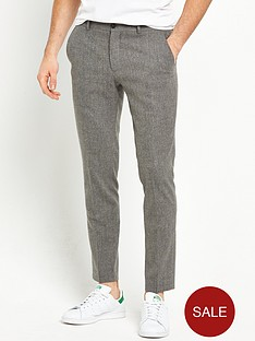 river-island-skinny-fit-textured-trousers