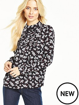 v-by-very-printed-high-neck-blouse